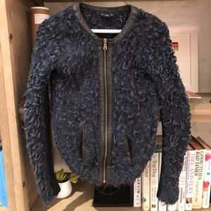 Club Monaco Alpaca Jacket